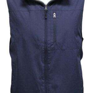 Navy Blue Man's Half Jacket