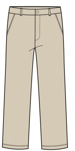 Cream Man's pant's